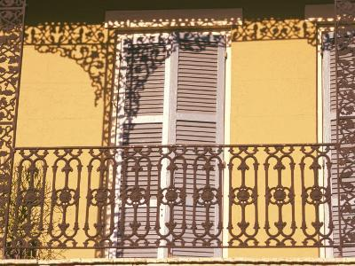 Iron Lace Balcony, New Orleans, Louisiana, USA-Ken Gillham-Photographic Print