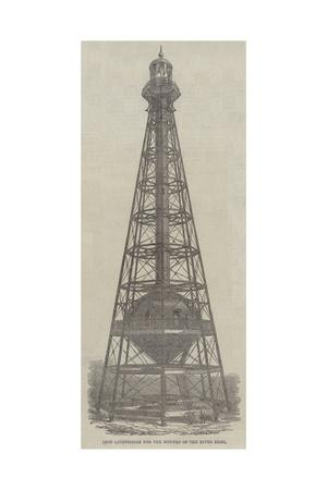 Iron Lighthouse for the Mouths of the River Ebro--Giclee Print