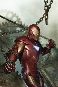 Iron Man: Director Of S.H.I.E.L.D. No.29 Cover: Iron Man