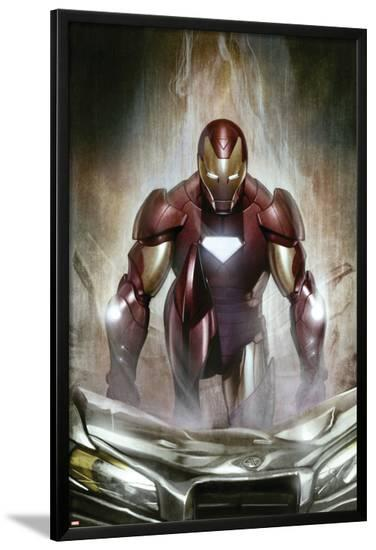 Iron Man: Director Of S.H.I.E.L.D. No.30 Cover: Iron Man--Lamina Framed Poster
