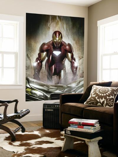 Iron Man: Director Of S.H.I.E.L.D. No.30 Cover: Iron Man--Wall Mural