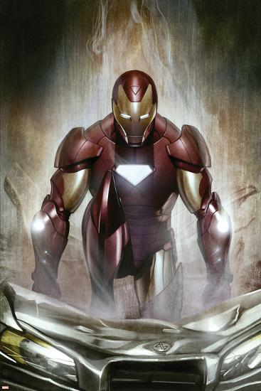Iron Man: Director Of S.H.I.E.L.D. No.30 Cover: Iron Man--Art Print