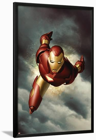 Iron Man No.1 Cover: Iron Man--Lamina Framed Poster