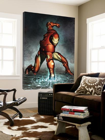 Iron Man No.76 Cover: Iron Man--Loft Art