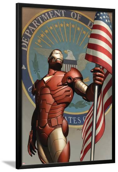 Iron Man No.78 Cover: Iron Man--Lamina Framed Poster