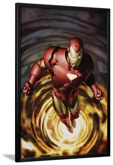 Iron Man No.80 Cover: Iron Man--Lamina Framed Poster