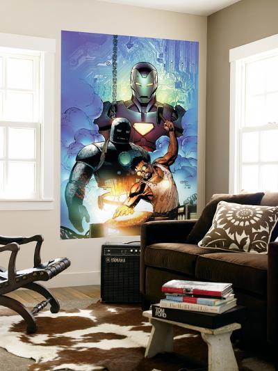 Iron Man: Requiem One Shot Cover: Stark and Tony-Sean Chen-Wall Mural