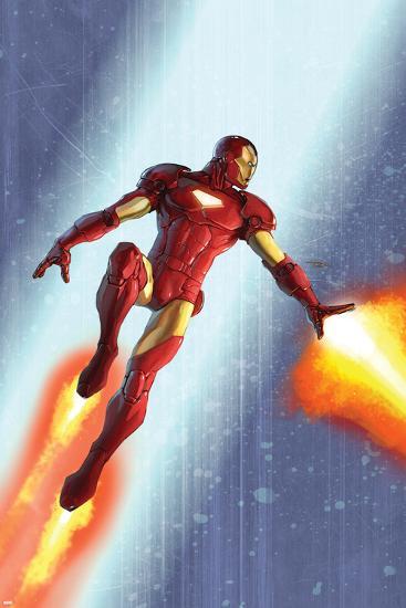 Iron Man & The Armor Wars No.3 Cover: Iron Man-Francis Tsai-Art Print