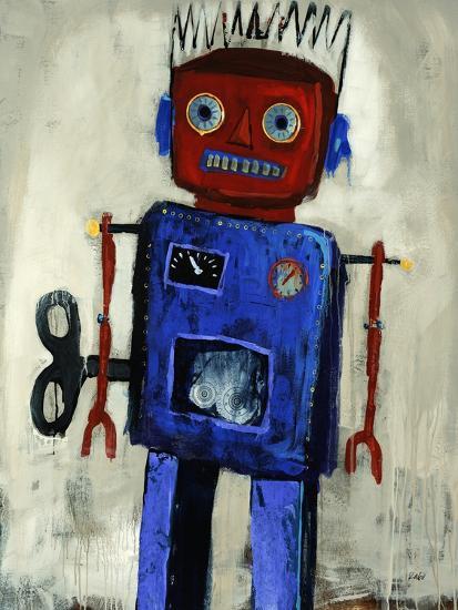 Iron Man-Clayton Rabo-Giclee Print