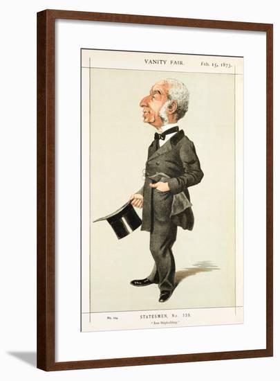 Iron Shipbuilding, 1873--Framed Giclee Print