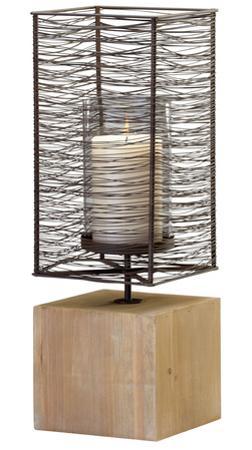 Iron Spun Candleholder - Large *