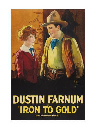 Iron to Gold--Art Print