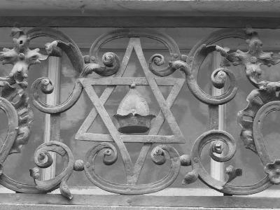 Iron Work in Historic Jewish Quarter, Prague-Keith Levit-Photographic Print