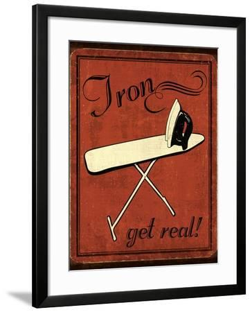 Iron-N. Harbick-Framed Art Print