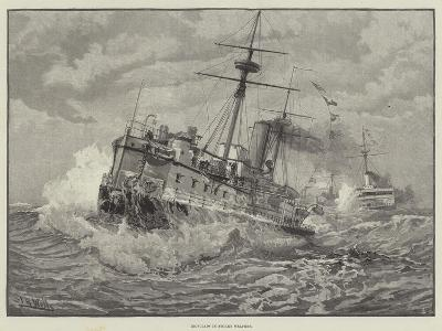 Ironclads in Stormy Weather--Giclee Print