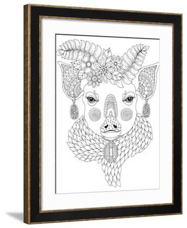 Irresistible Animals 9-Hello Angel-Framed Giclee Print