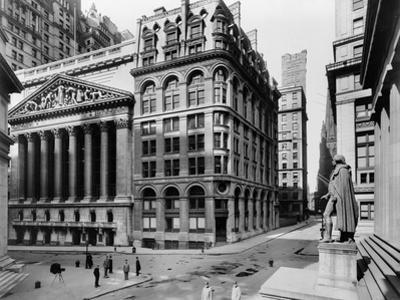 Stock Exchange, C1908 by Irving Underhill