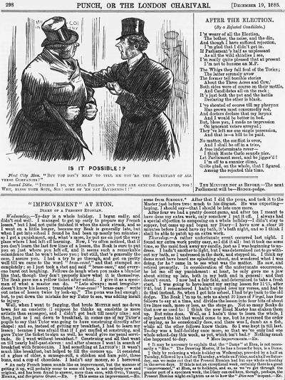 Is it Possible?, 1885-Charles Samuel Keene-Giclee Print