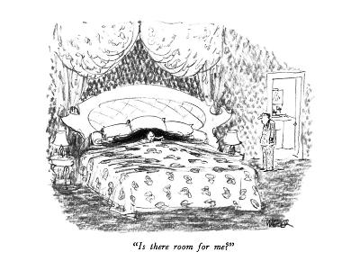 """Is there room for me?"" - New Yorker Cartoon-Robert Weber-Premium Giclee Print"