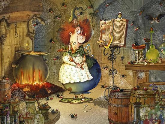 Is this Right Spell-Francois Ruyer-Giclee Print