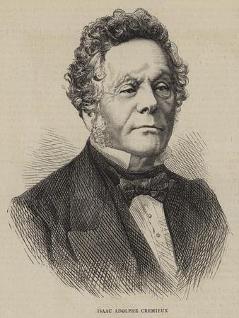 Isaac Adolphe Cremieux--Giclee Print