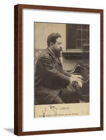 Isaac Albeniz, Spanish Pianist and Composer (1860-1909)