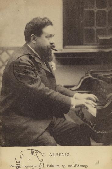 Isaac Albeniz, Spanish Pianist and Composer (1860-1909)--Photographic Print