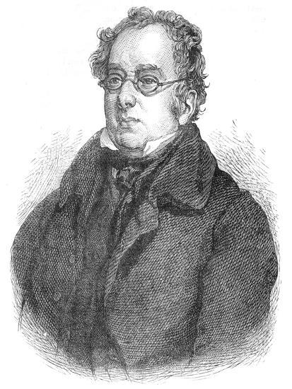 Isaac D'Israeli, British writer and scholar, c1840 (1878)-Unknown-Giclee Print