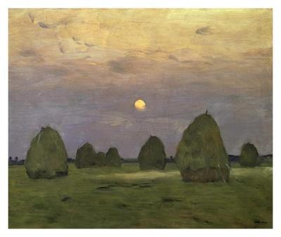 Haystacks Twilight, 1899