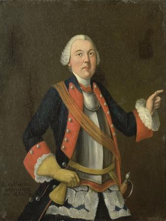 Portrait of Jan Hendrik Van Rijswijk (Born), Isaac Lodewijk La Fargue Van Nieuwland.