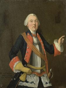 Portrait of Jan Hendrik Van Rijswijk (Born), Isaac Lodewijk La Fargue Van Nieuwland. by Isaac Lodewijk la Fargue van Nieuwland