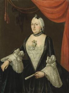 Portrait of Johanna Van Rijswijk by Isaac Lodewijk la Fargue van Nieuwland