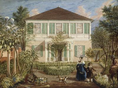 In the Garden of a House in the West Indies, 1844