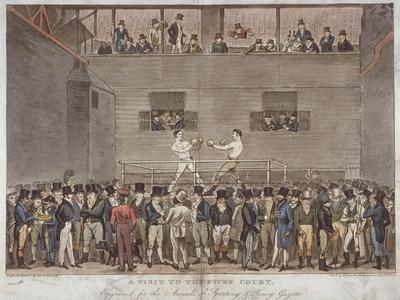 A Visit to the Fives Court, 1822