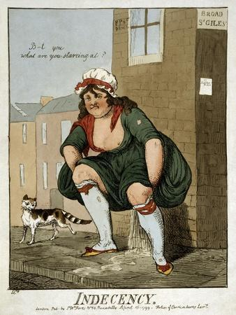 Indecency, 1799