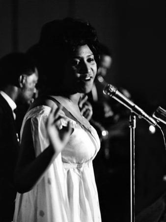 Aretha Franklin by Isaac Sutton