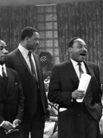 Dr. Martin Luther King Jr. and Jesse Jackson by Isaac Sutton