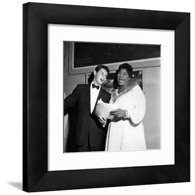 Mahalia Jackson, Eddie Fisher - 1955