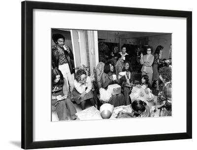 Mary Wilson, Baby Shower 1975