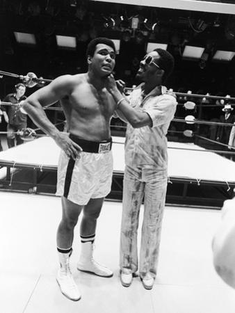 Muhammad Ali and Stevie Wonder, 1975