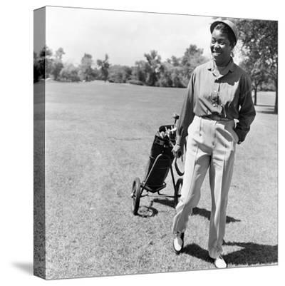 Sarah Vaughan on Golf Course