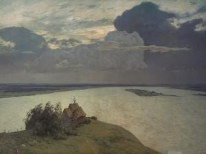 Above the Eternal Peace, 1894 by Isaak Iljic Lewitan
