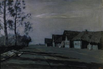A Russian Village by Moonlight, 1897