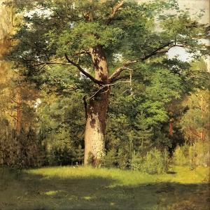 The Oak, 1880 by Isaak Iljitsch Lewitan