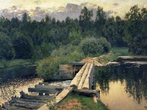 At the Shallow, 1892 by Isaak Ilyich Levitan