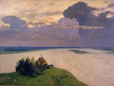 Over Eternal Peace, 1894 by Isaak Ilyich Levitan