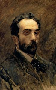 Self Portrait, 1890s by Isaak Ilyich Levitan