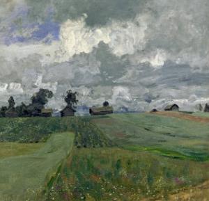 Stormy Day, 1897 by Isaak Ilyich Levitan