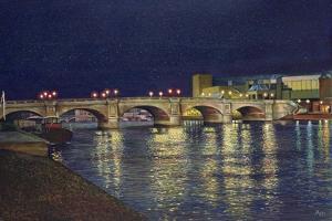 Kingston Bridge, 1993 by Isabel Hutchison