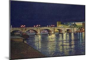 Kingston Bridge, 1993 by Isabel Hutchison